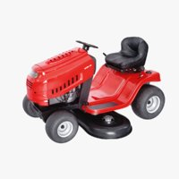 3D lawn mover model