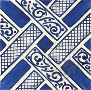 Ceramic Tile (Turkish Traditional)