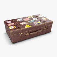 old suitcase 3D model