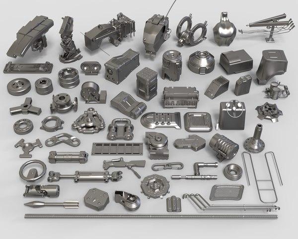 3D kit bashes - 58 model