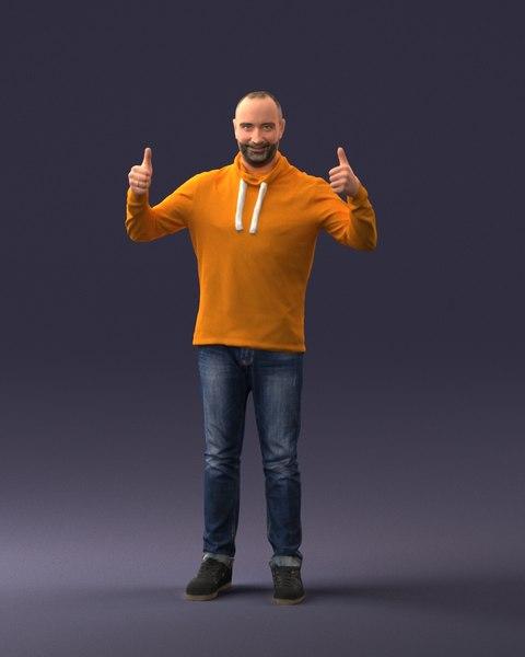 man good mood model
