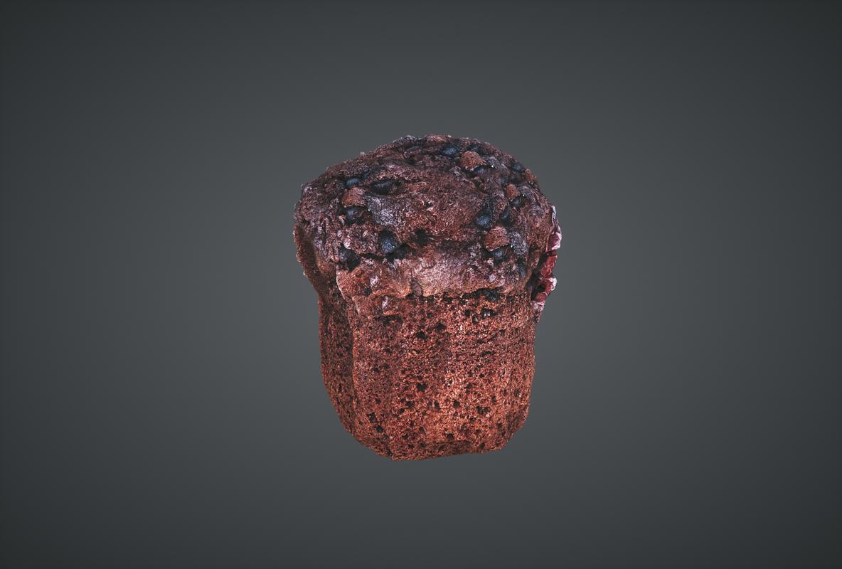 3D muffin ready lightwave model