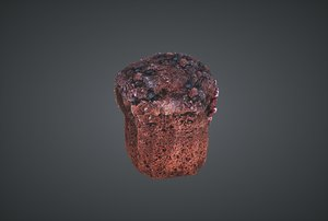 3D muffin ready lightwave model