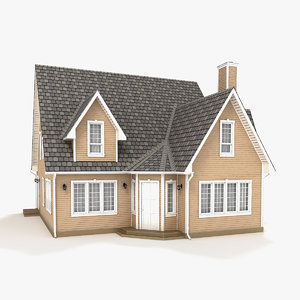 two-story cottage 64 model