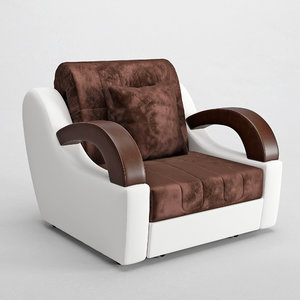 armchairs bed madrid 3D model
