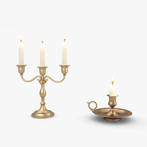 3D candle