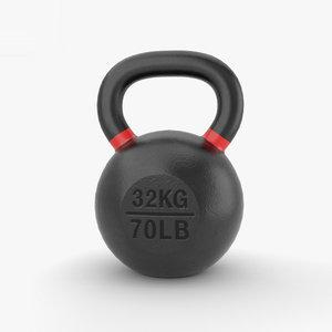 3D kettlebell sport fitness model