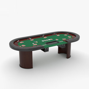 poker table 3D