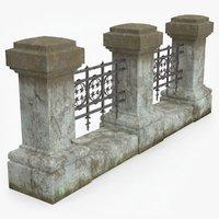 3D columns fences