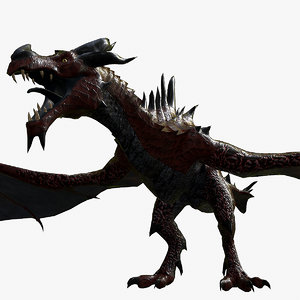 ephesus dragon 3D model