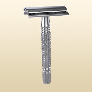 3D tool shaving razor