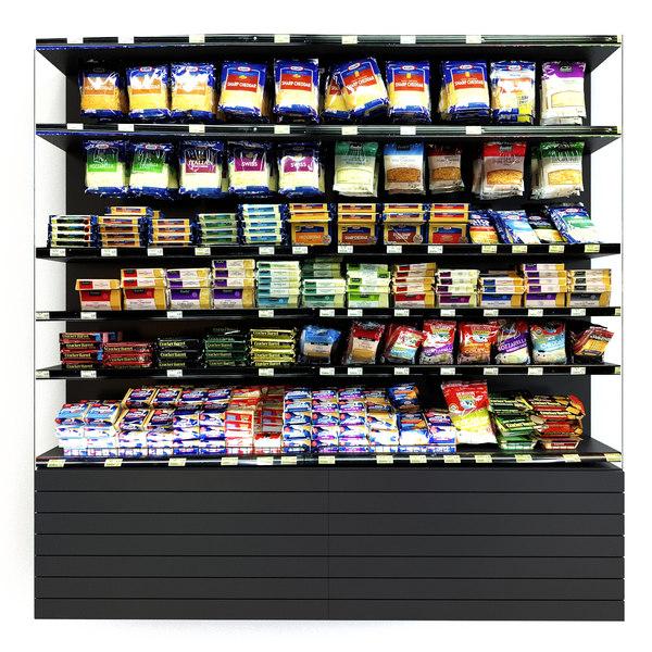 stock food 3D model