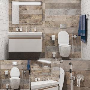 3D set bathroom 1