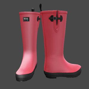 3d boots gumboots