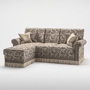 sofa maxim 3D model