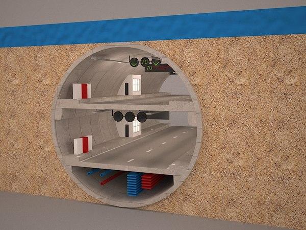 3D tunnel avrasya