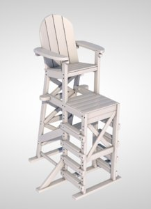 3D lifeguard chair model