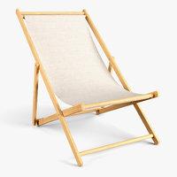 wood beach chair model