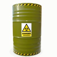 3D biohazard barrel 02