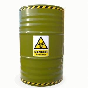 3D biohazard barrel 02