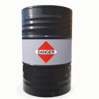 danger barrel 03 3D