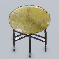 Moroccan tray table