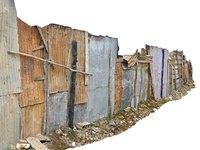 3D african slums scan 16k