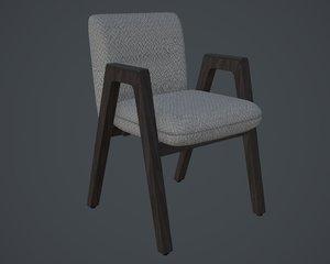 chair cushion gameres 3D