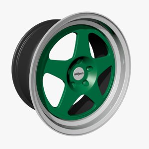 rotiform wheel rims 3D model