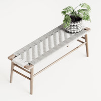 Woven Rope Bench