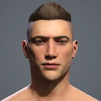 3D photorealistic human head real time model