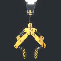 crane scifi 3D model