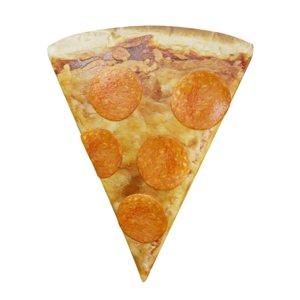 slice pepperoni pizza 3D