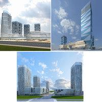 3D cityscape 4-6