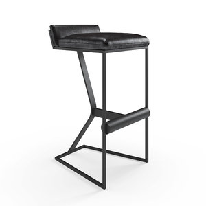 faye bar stool okha 3D model