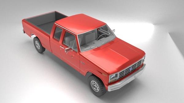 1984 f350 xls 3D model
