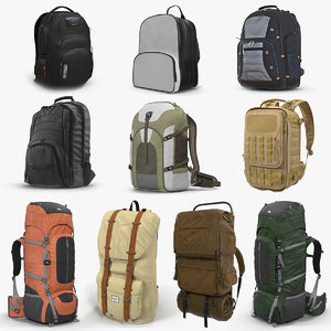 backpacks 7 3D