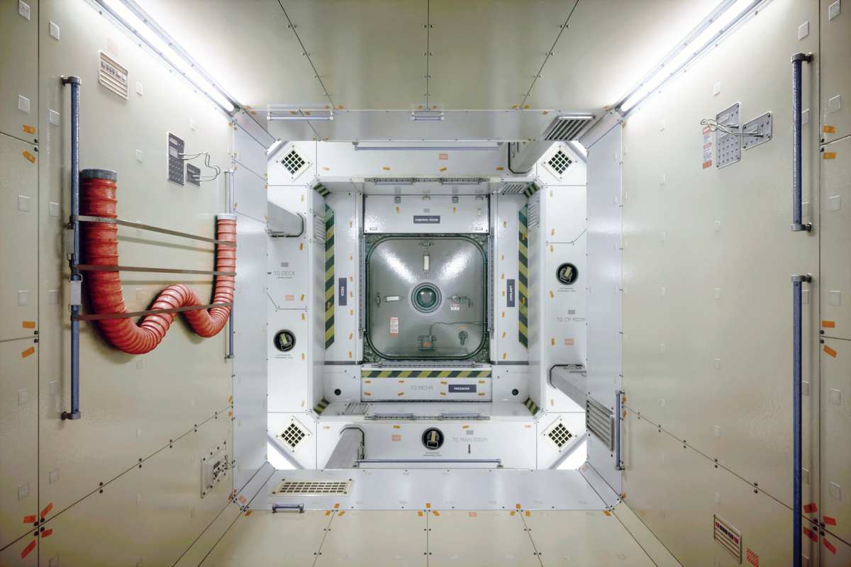 space station interior model