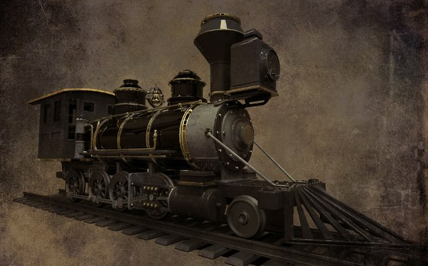 3D model steam engine