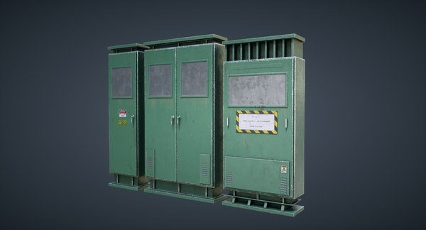 3D modular pbr 4k model