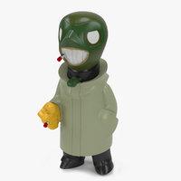3D model toys gobi