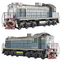 locomotive diesel tem2 3D