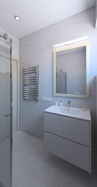 shower 3D