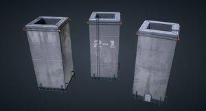 games pbr materials 3D model