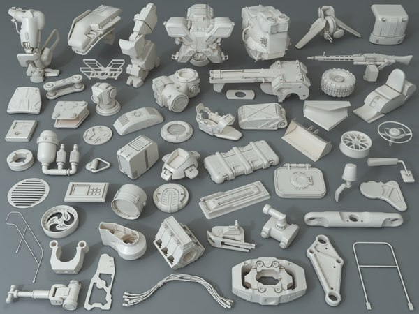 kit bashes - 57 3D model