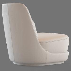 chair armchair furniture 3D model