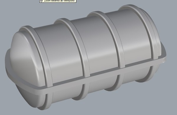 liferaft viking 3D model