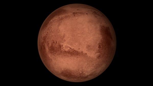 3D mars 16k planet