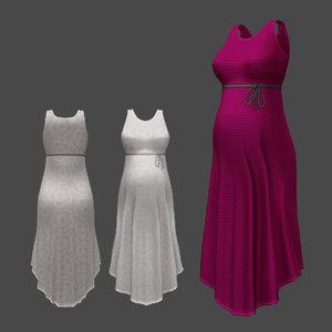 3D dress tummy rigged