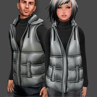 3D male female winter